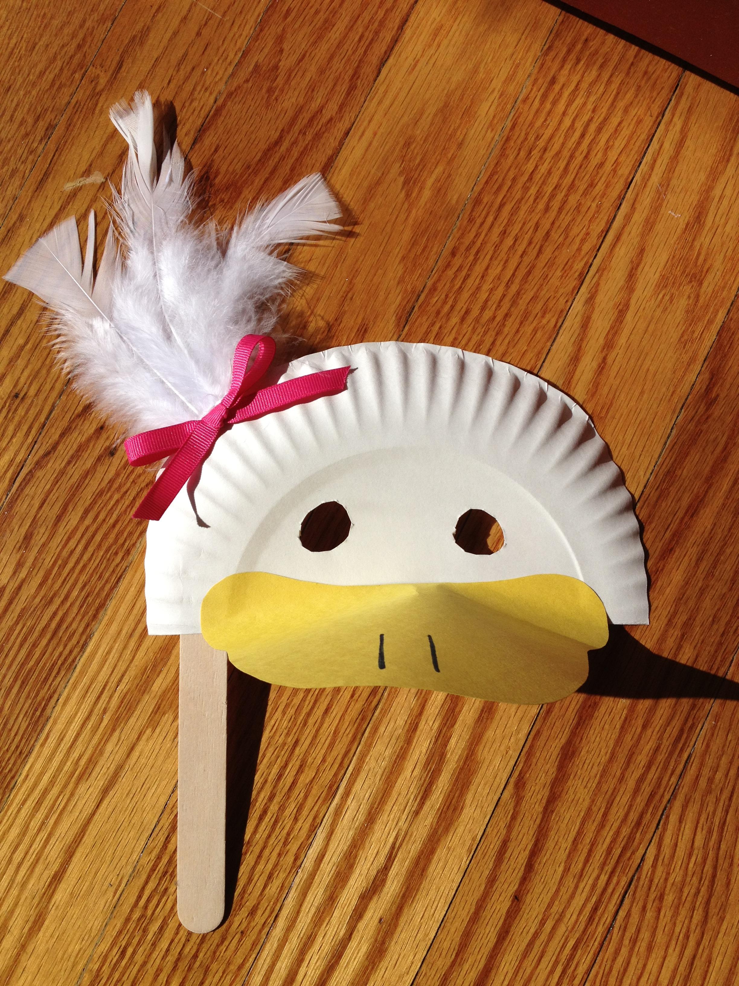 Duck Mask Craft | Becca Beck